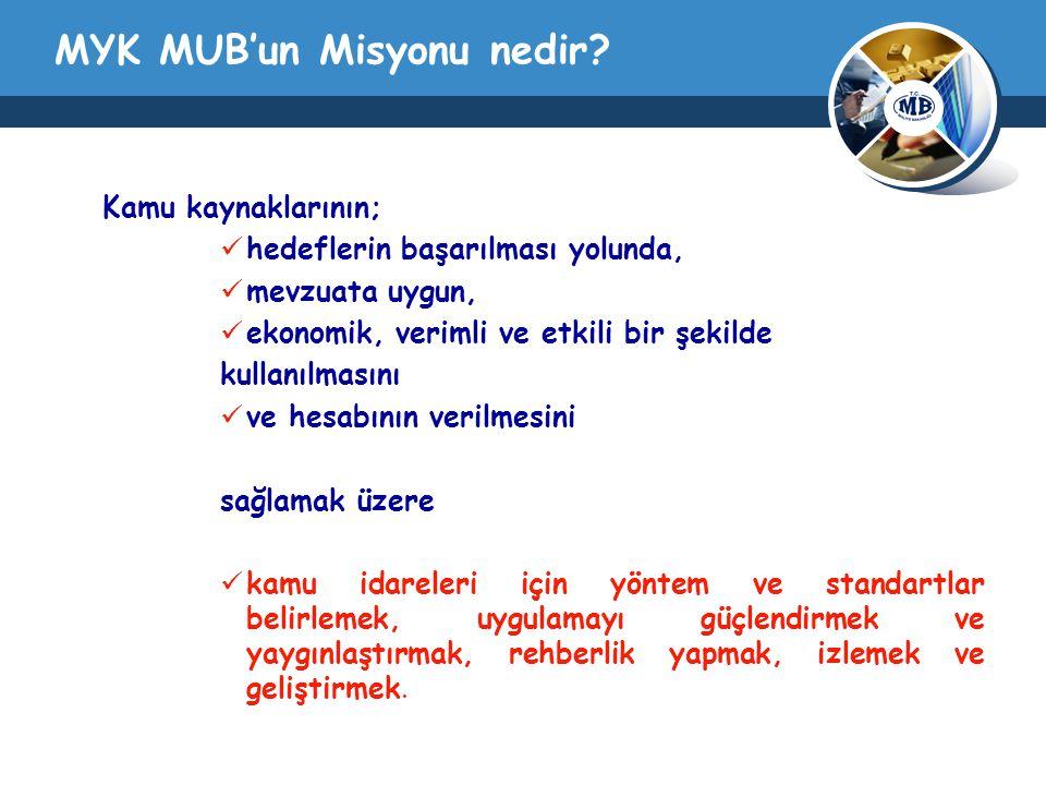 MYK MUB'un Misyonu nedir.