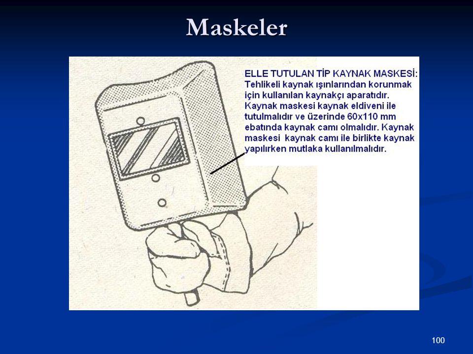 100 Maskeler