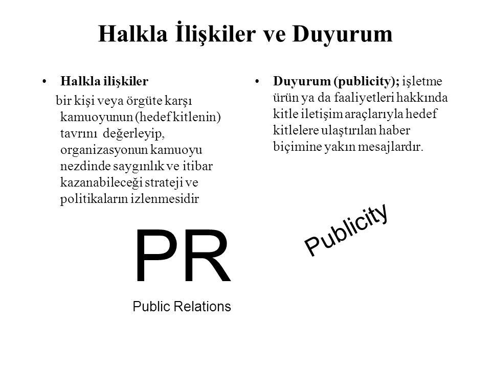 Halkla İlişkiler PR