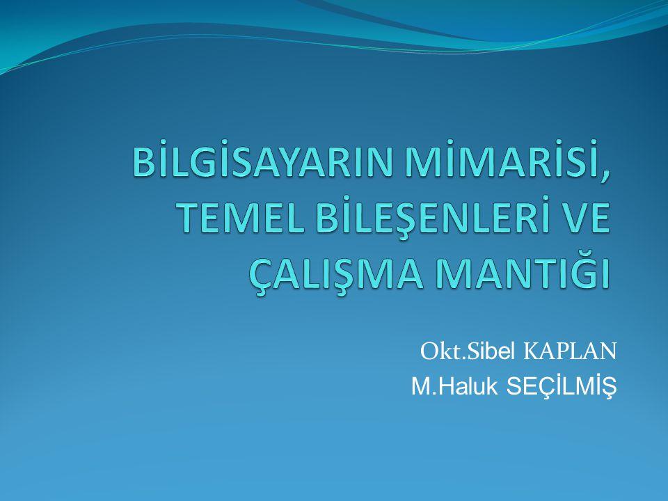 Okt.S ibel KAPLAN M.Haluk SEÇİLMİŞ