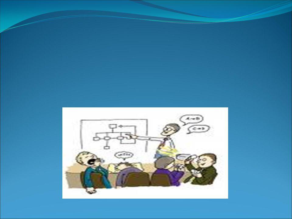 Giriş 3 Sunumlar eğitimin her düzeyinde ve mesleki hayatta önemlidir.