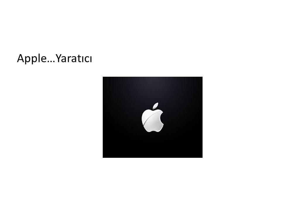 Apple…Yaratıcı