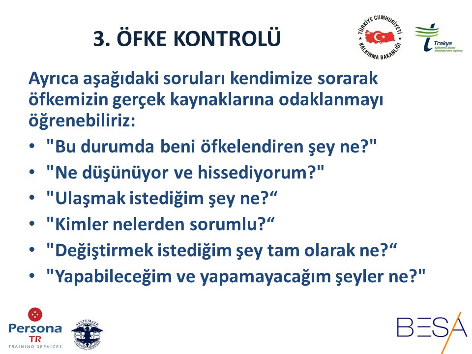 3.ÖFKE KONTROLÜ 4.