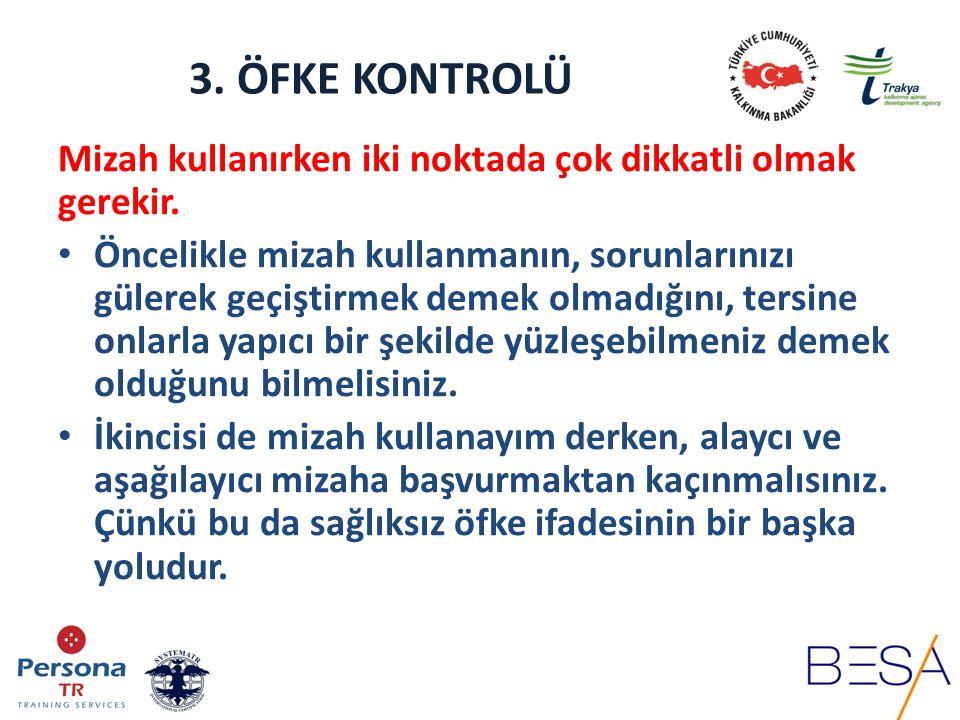 3.ÖFKE KONTROLÜ 6.