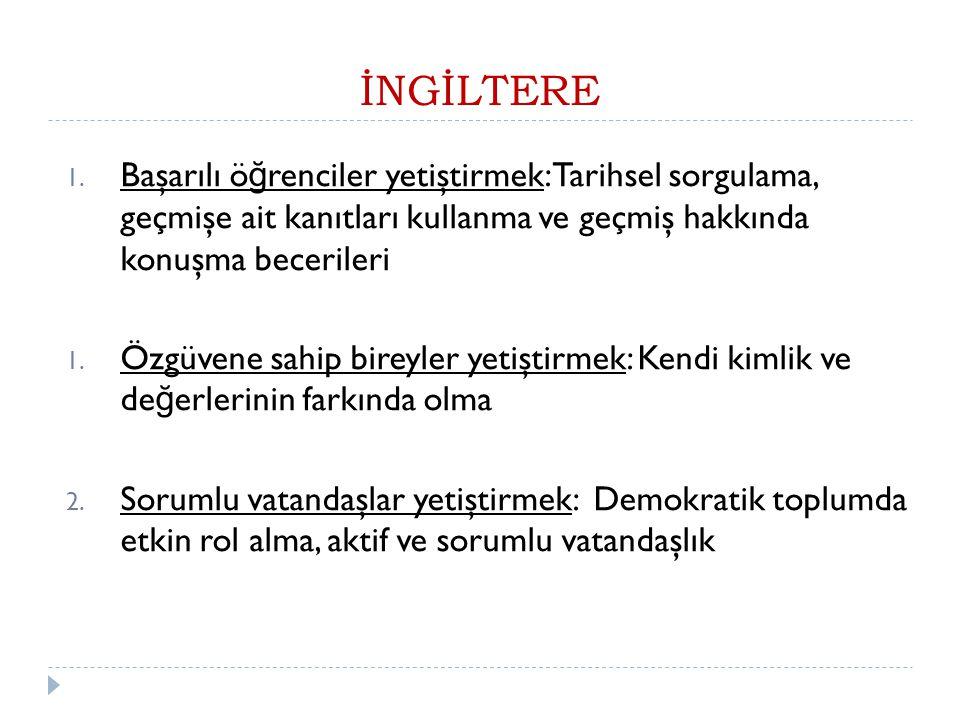 İNGİLTERE 1.