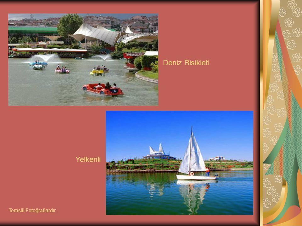 Deniz Bisikleti Yelkenli Temsili Fotoğraflardır.