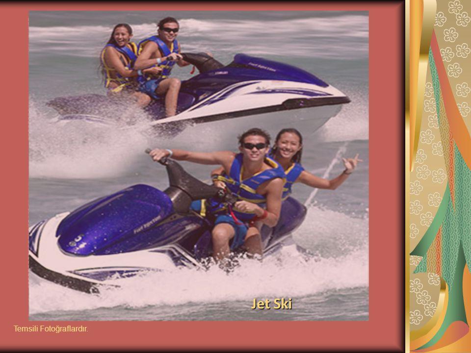 Jet Ski Temsili Fotoğraflardır.