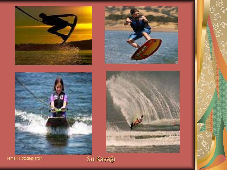 Su Kayağı Temsili Fotoğraflardır.