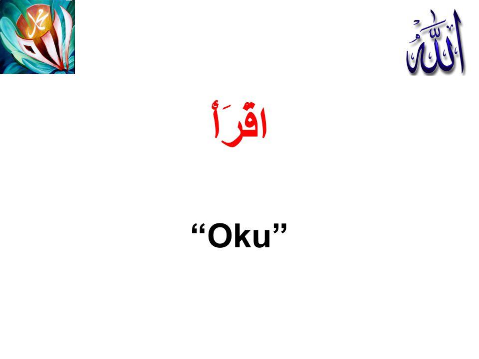 """اقْرَأْ """"Oku"""""""