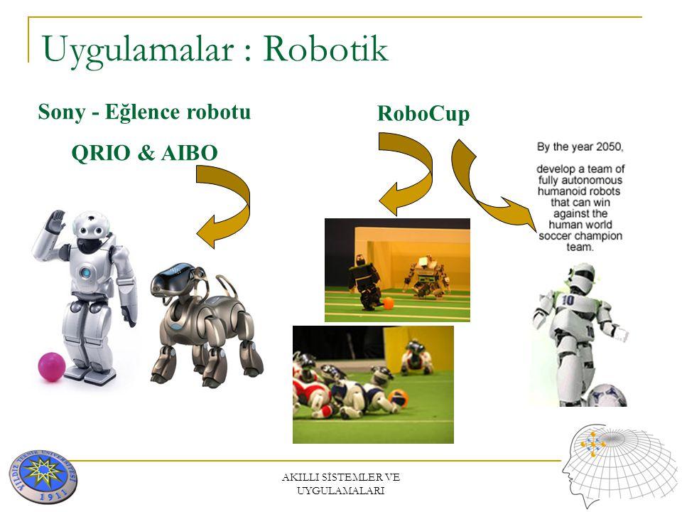 AKILLI SİSTEMLER VE UYGULAMALARI Uygulamalar : Robotik Joseph F. Engelberger