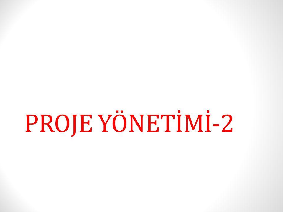 PROJE YÖNETİMİ-2