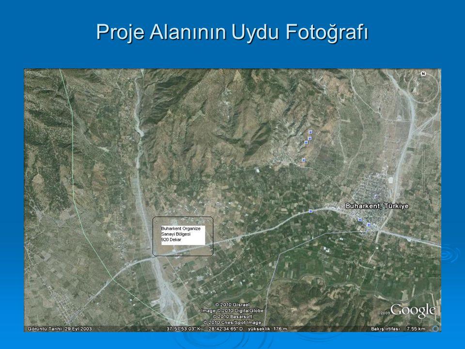 Proje Alanının Uydu Fotoğrafı
