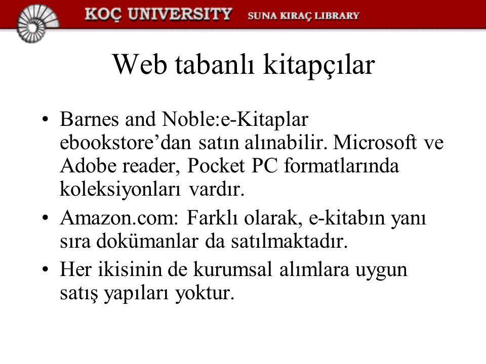 Web tabanlı kitapçılar Barnes and Noble:e-Kitaplar ebookstore'dan satın alınabilir.