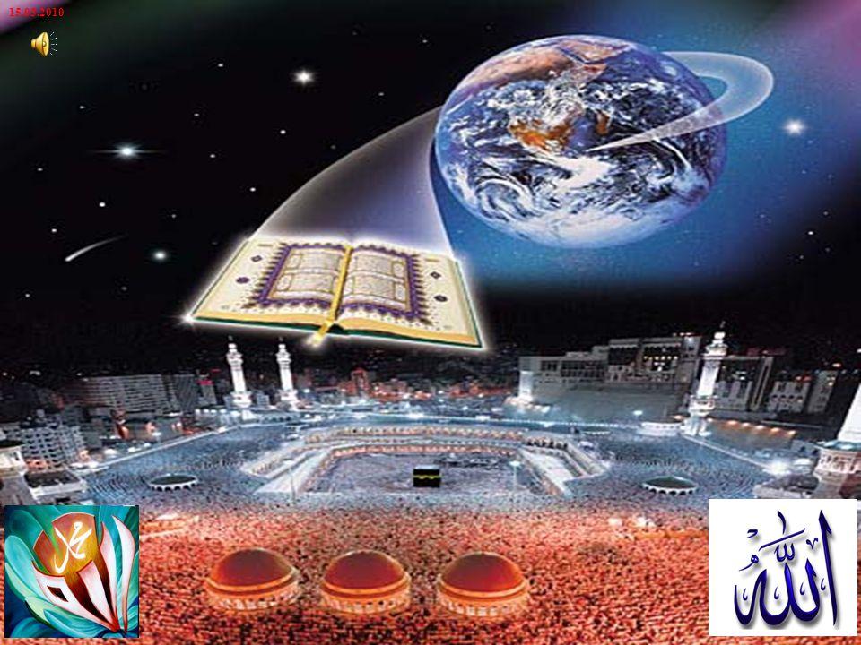 Vahyolunan ayetler ve o ayetlerin oluşturduğu Kur an, önce elçisini eğitip yetiştirdi.