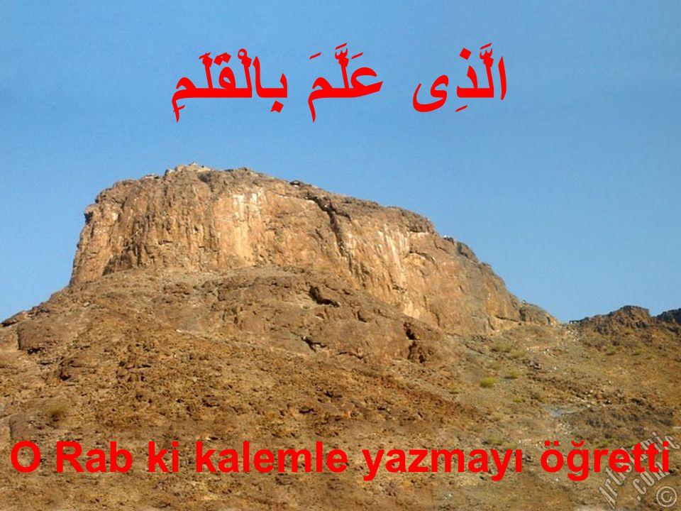 3.1.Hz Muhammed'in Peygamber Olarak Görevlendirilişi Bu ayet-i kerîmeler; Hz.