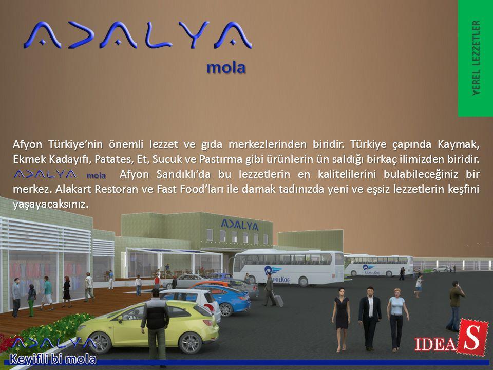 Afyon Türkiye'nin önemli lezzet ve gıda merkezlerinden biridir. Türkiye çapında Kaymak, Ekmek Kadayıfı, Patates, Et, Sucuk ve Pastırma gibi ürünlerin