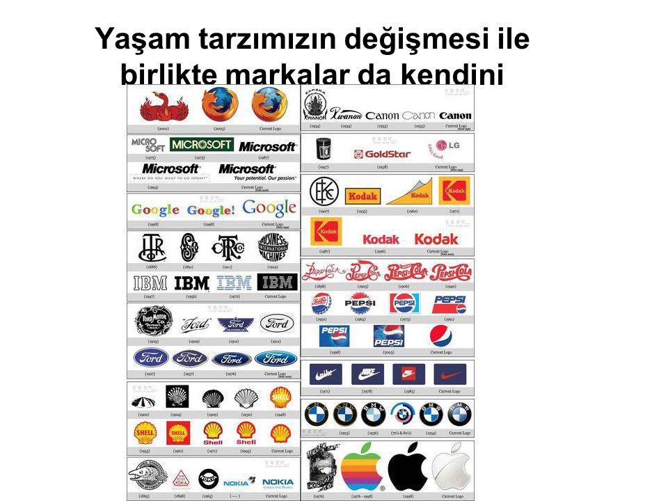 Yaşam tarzımızın değişmesi ile birlikte markalar da kendini yeniliyor…