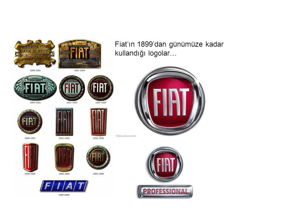 Fiat'ın 1899'dan günümüze kadar kullandığı logolar…