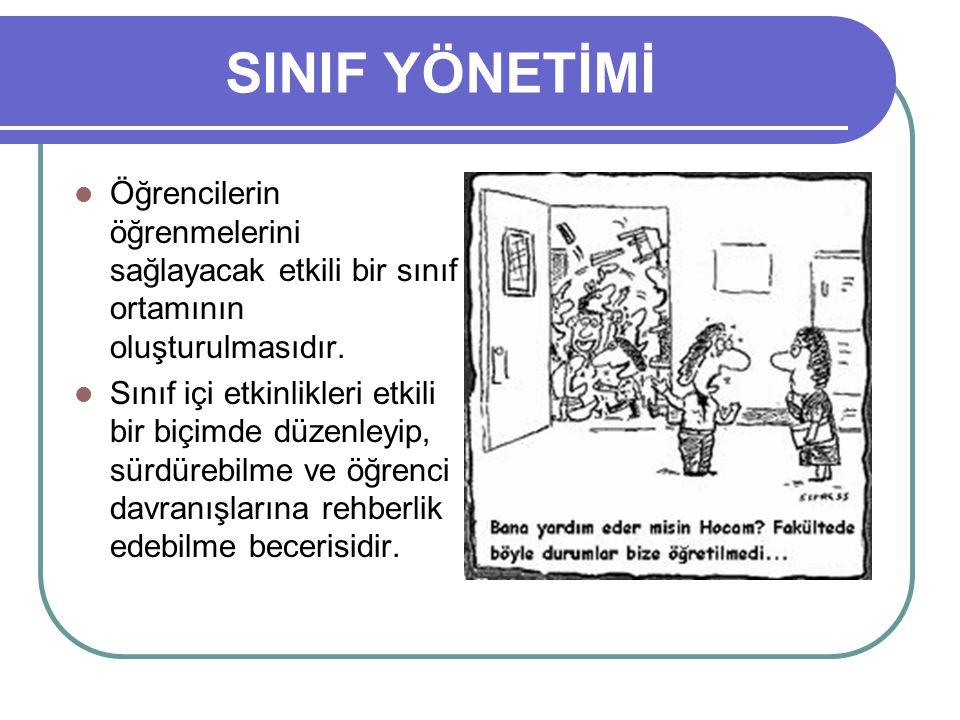 SINIF YÖNETİM YAKLAŞIMLARI 4.