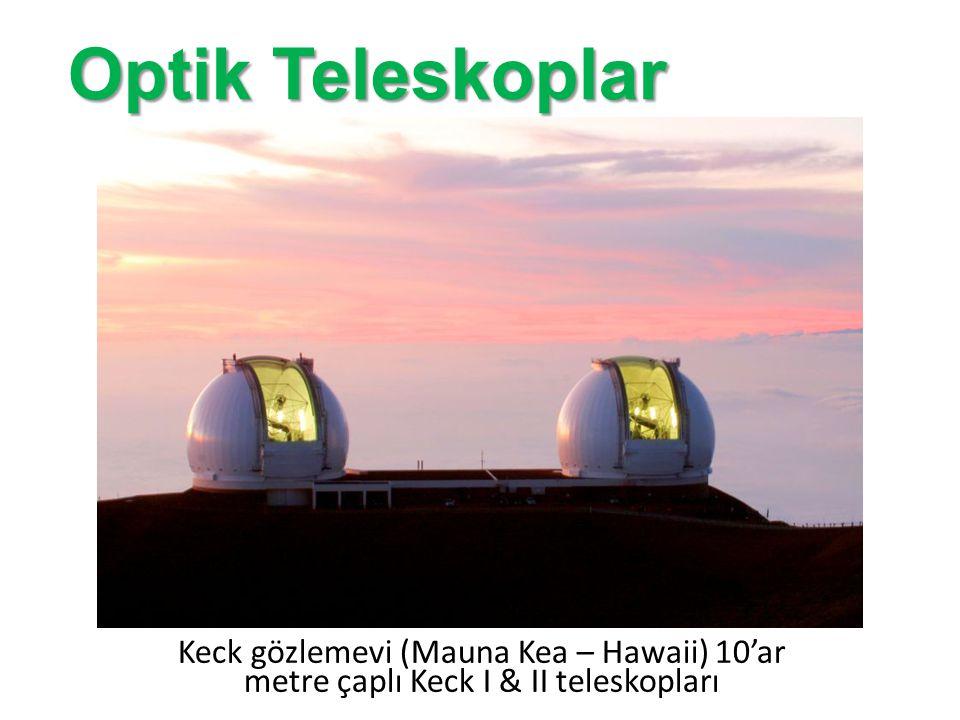 Türkiye'deki en büyük teleskop: TÜBİTAK Ulusal Gözlemevi (Saklıkent – Antalya) 1.5 metre çaplı Ritchey – Chrétien türü RTT150 Optik Teleskoplar