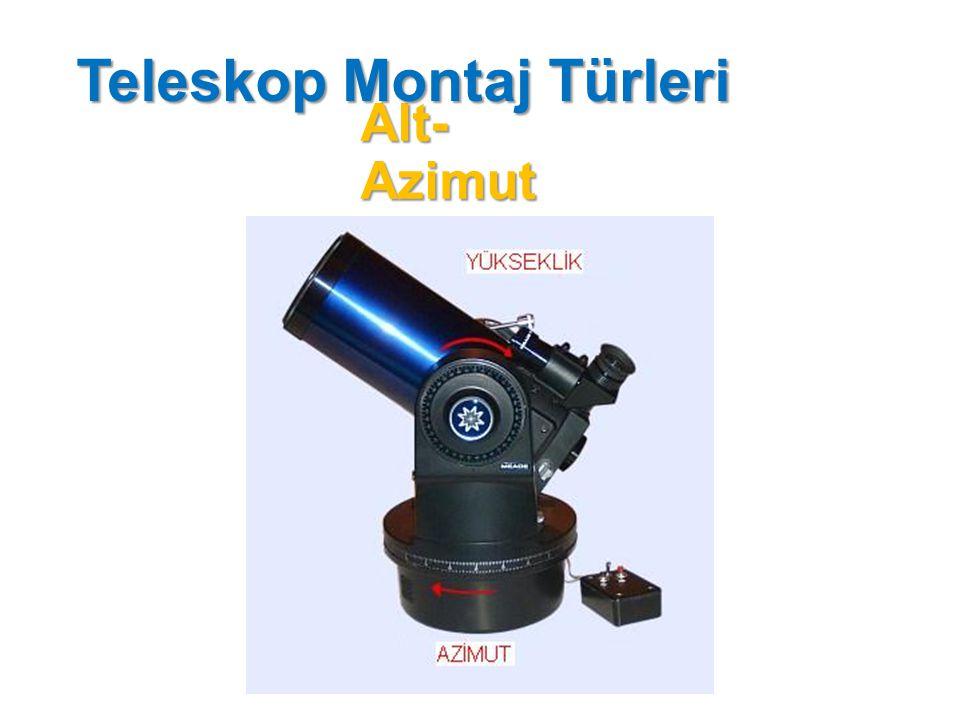 Ekvatory al Teleskop Montaj Türleri