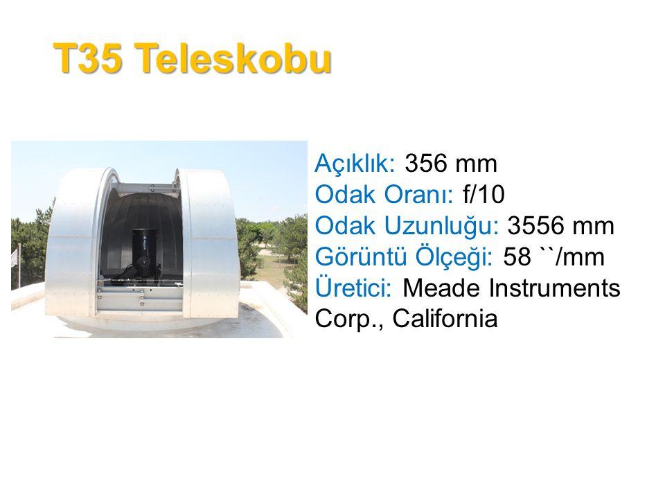 Coude Teleskobu Açıklık: 150 mm Odak Oranı: f/15 Odak Uzunluğu: 2250 mm Görüntü Ölçeği: 92 ``/mm Üretici: ZEISS- Oberkochen, Württemberg