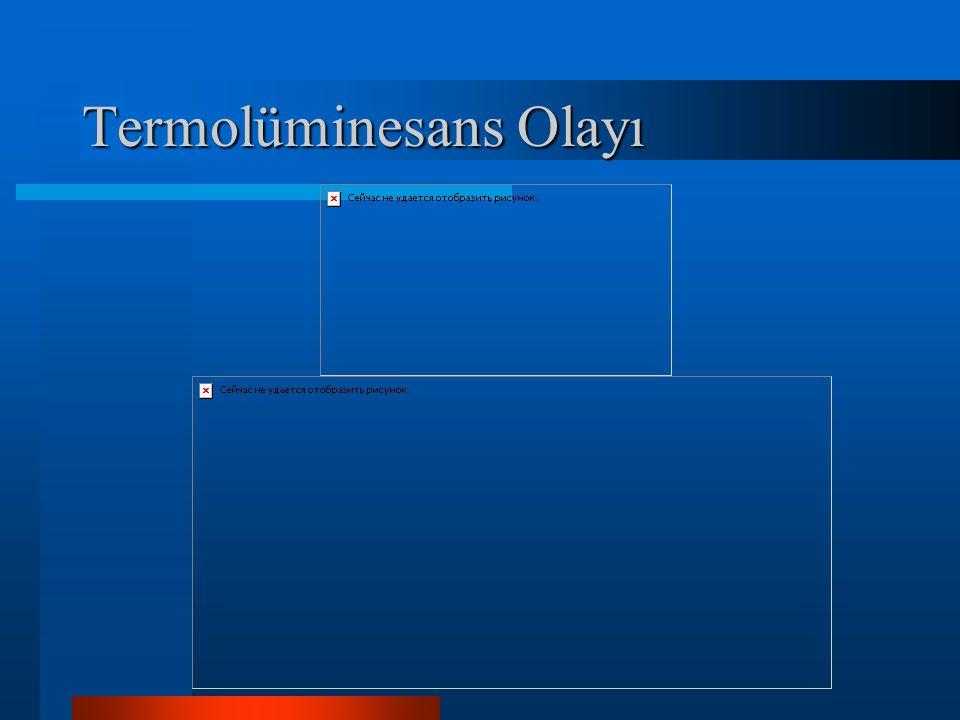 Termolüminesans Olayı
