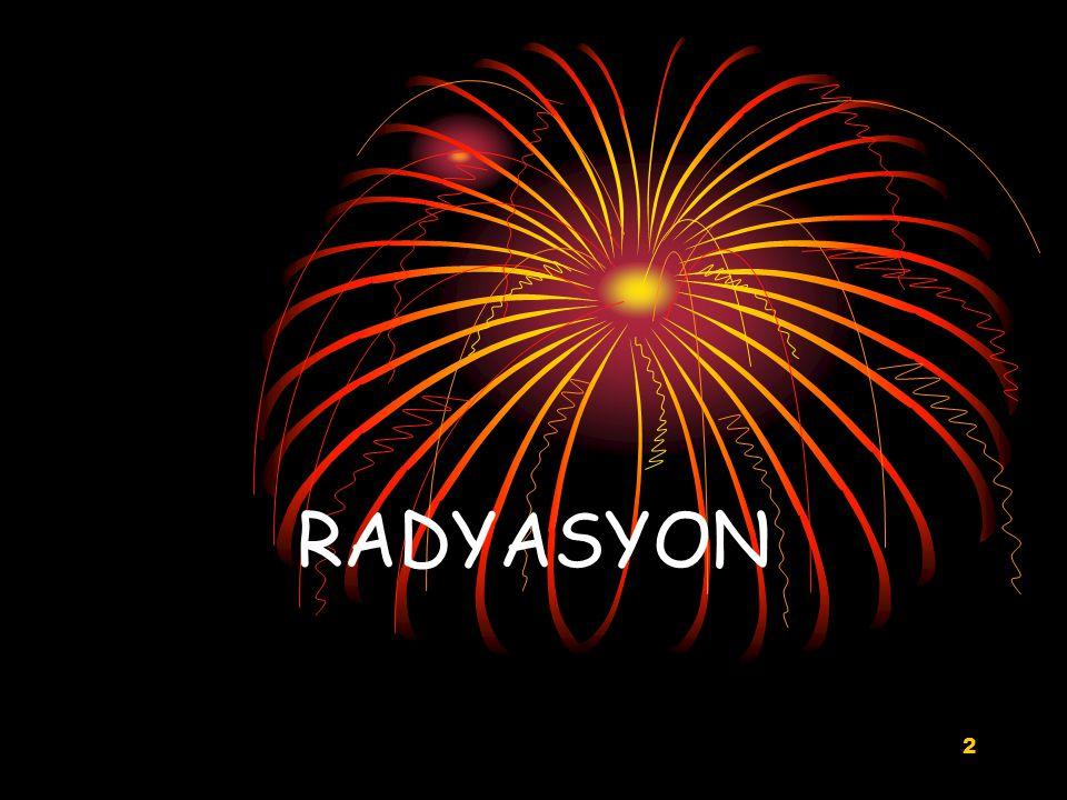 2 RADYASYON