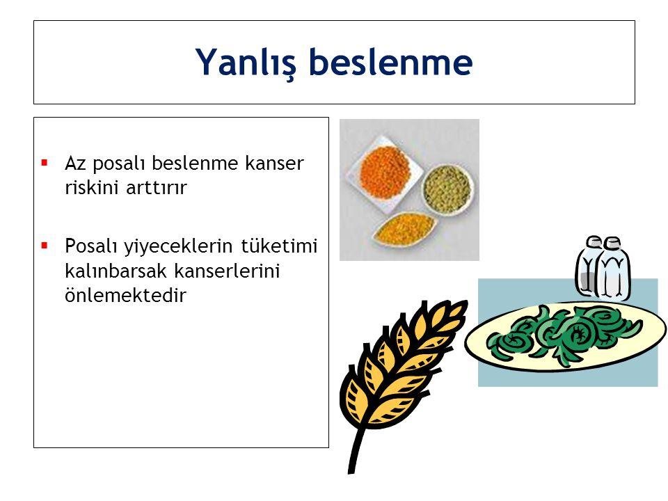  İyi koşullarda depolanmayan tahıllar  Kurutulmuş meyveler  Peynirde oluşan zararlı küfler yemek borusu ve karaciğer CA Yanlış beslenme