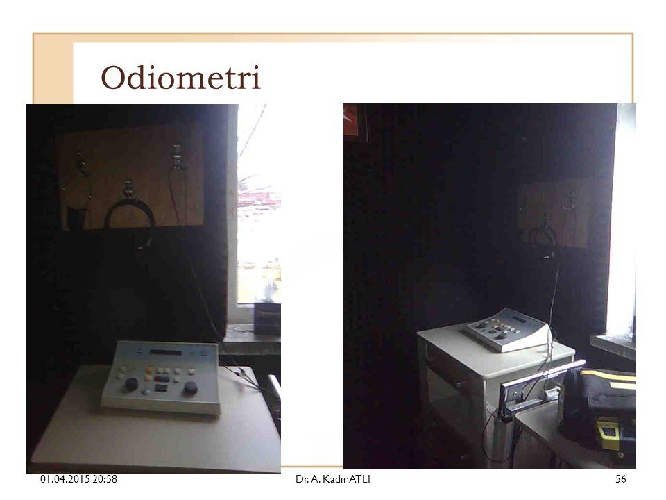 Odiometri 01.04.2015 21:00Dr. A. Kadir ATLI56