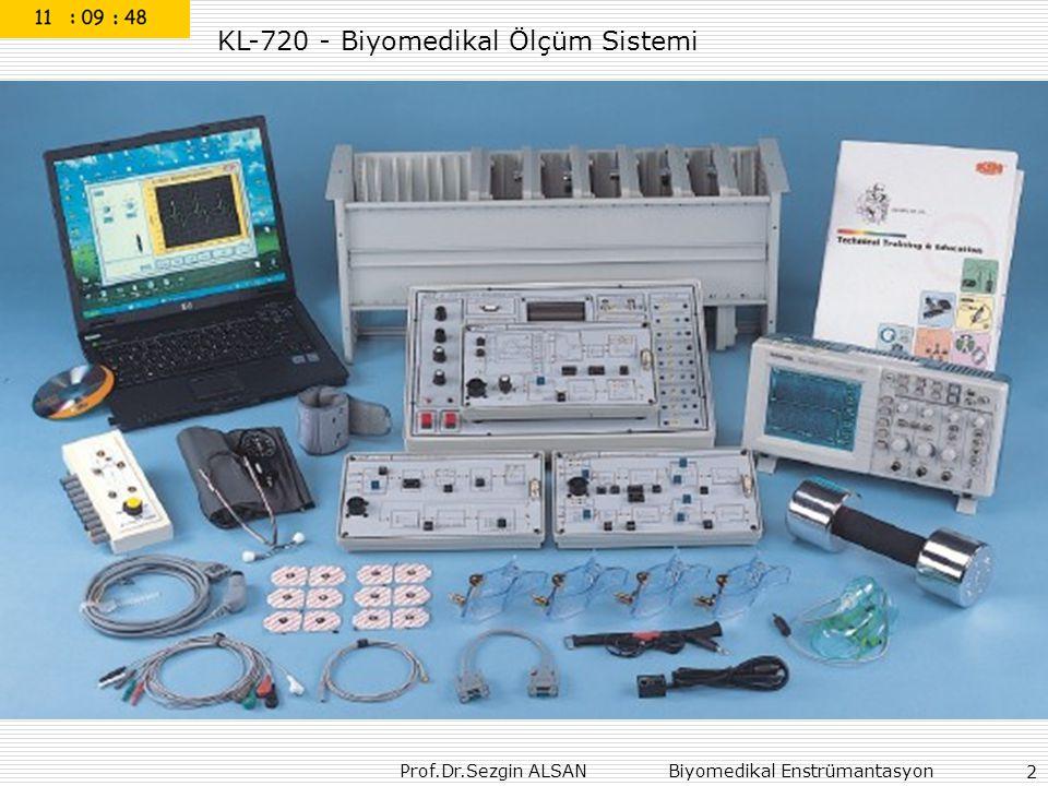 Prof.Dr.Sezgin ALSAN Biyomedikal Enstrümantasyon  cardiac cycle Systole Diastole pressure volume flow 33
