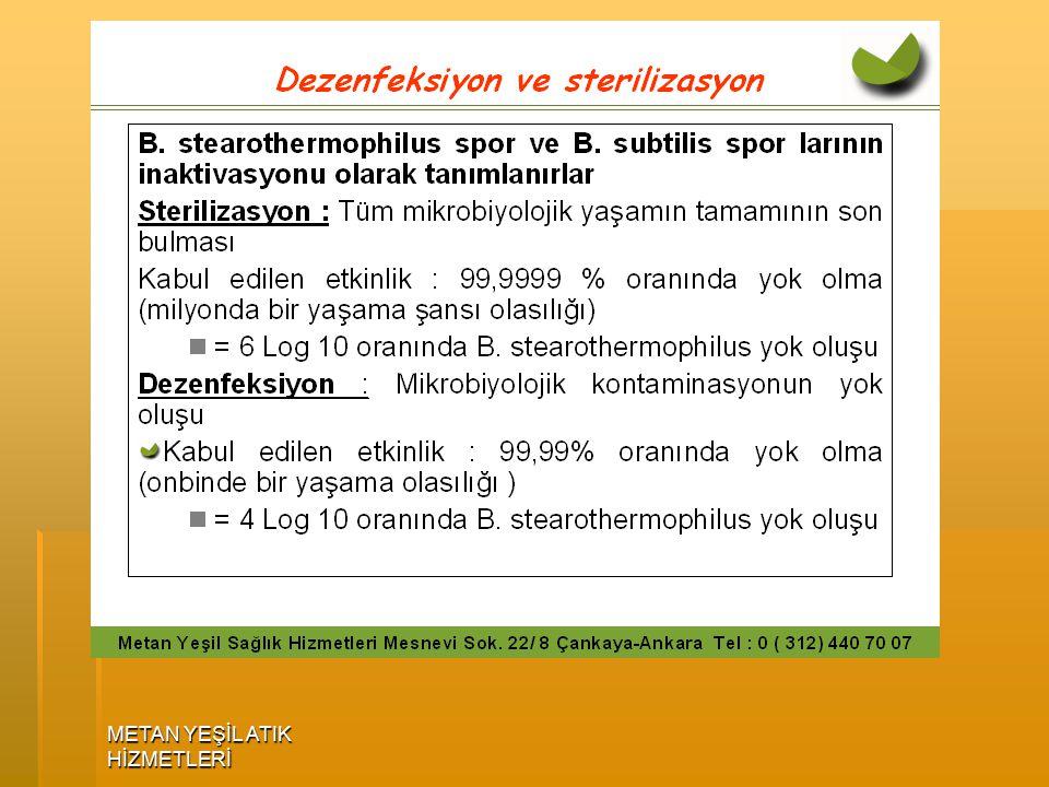 ENFEKTE TIBBİ ATIK STERİLİZASYONU STERİLİZASYON