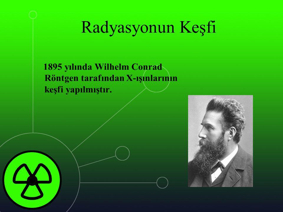RADYASYON BİRİMLERİ
