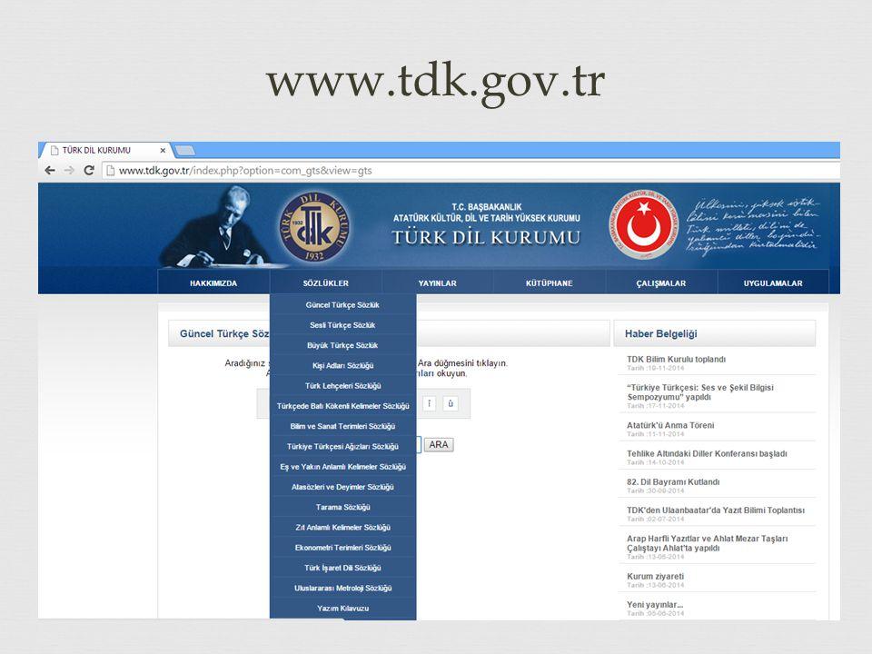 www.tdk.gov.tr