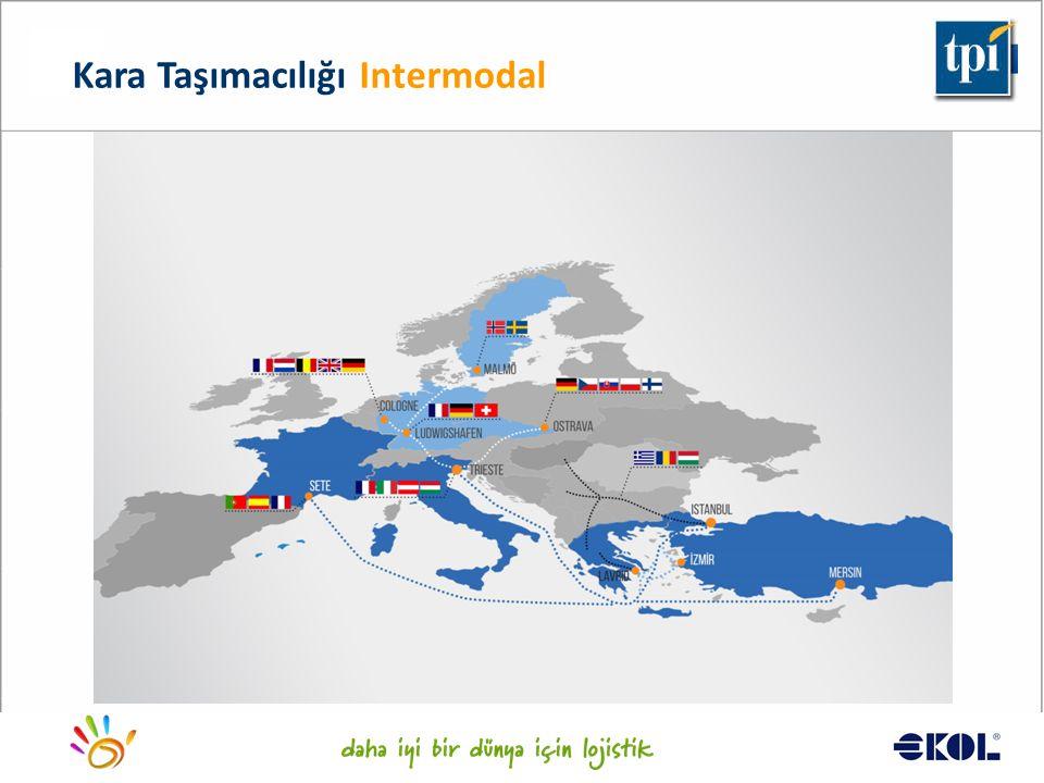 Logistics for a better world... Kara Taşımacılığı Intermodal
