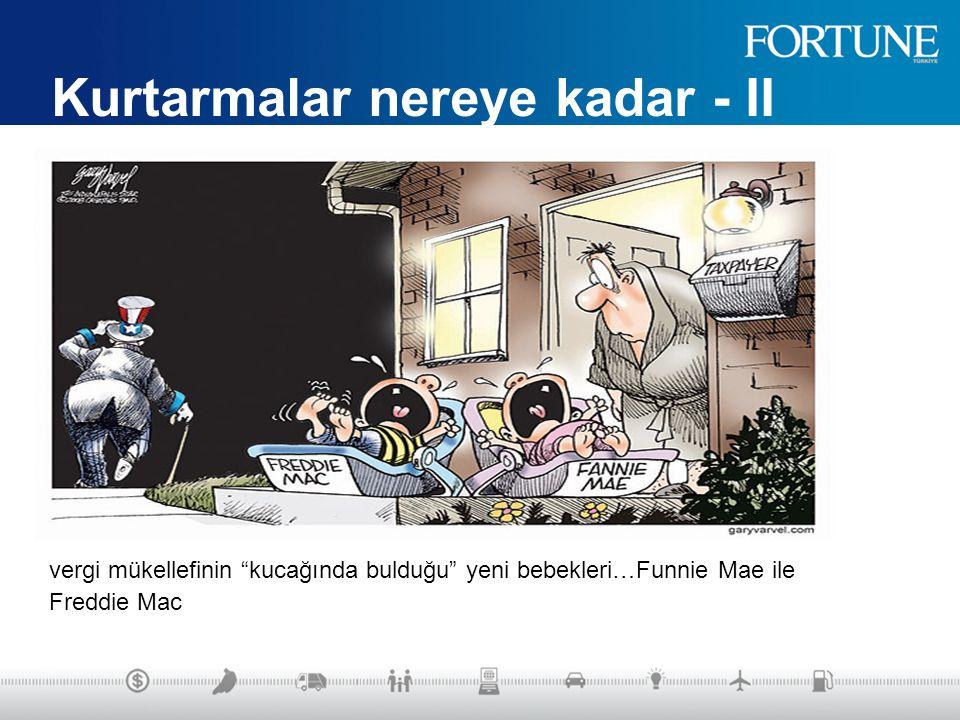 Türkiye 2001 – Dünya 2008 İki kriz birbirinden farklı: Ölçekleri çok farklı –Türkiye : 38 milyar dolar, ABD : 5.5 trilyon dolar Global ölçekte – Küreselleşmenin Bulaşıcı yan etkisi Tüm ülkeler mecburen paket açıklıyor.