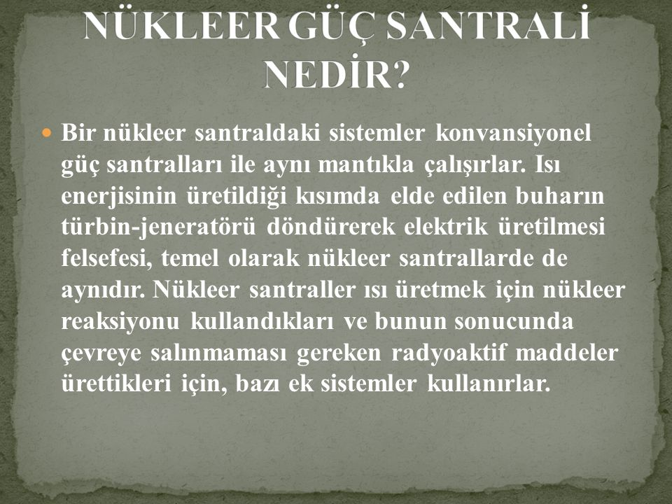Nükleer santralı olmayan Türkiye, İstanbul İkitelli'de 1999'da meydana gelen olayla dünyanın en önemli 20 radyoaktif kazası listesine girdi.