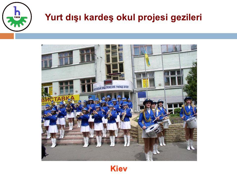 Yurt dışı kardeş okul projesi gezileri Kiev