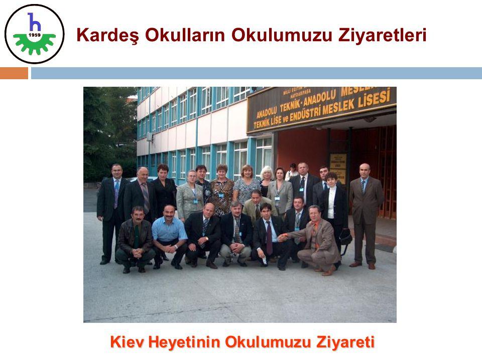 Kardeş Okulların Okulumuzu Ziyaretleri Kiev Heyetinin Okulumuzu Ziyareti