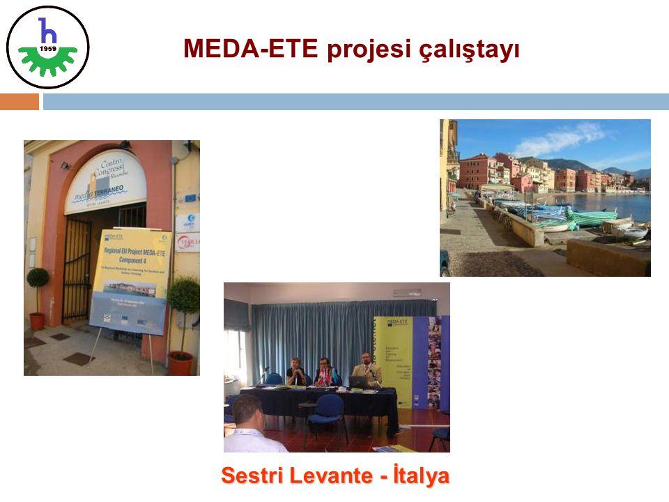 Sestri Levante - İtalya MEDA-ETE projesi çalıştayı