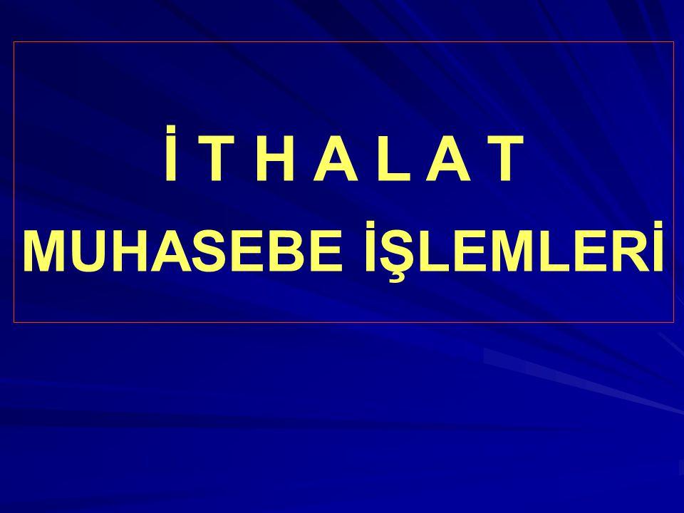 HABERLEŞME MASRAFI: 200.- Euro (€) ithalat akreditif haberleşme masrafı banka döviz hesaplarından ödenmiştir.