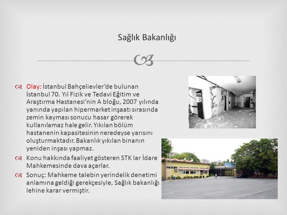   Olay: İstanbul Bahçelievler'de bulunan İstanbul 70.
