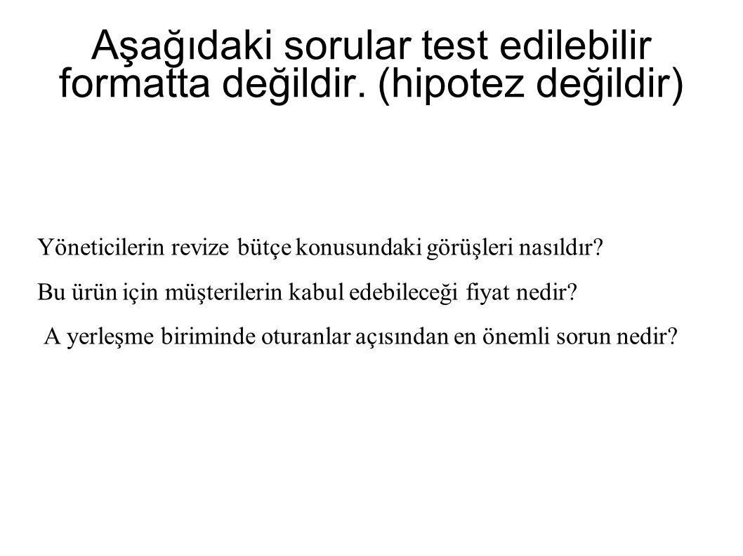 Aşağıdaki sorular test edilebilir formatta değildir.