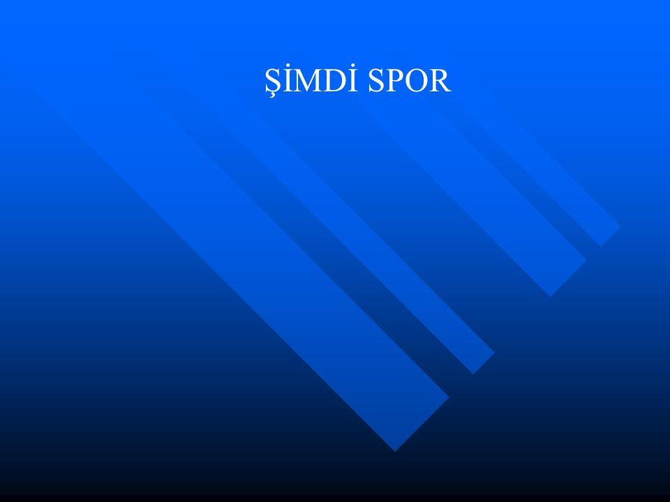 ŞİMDİ SPOR
