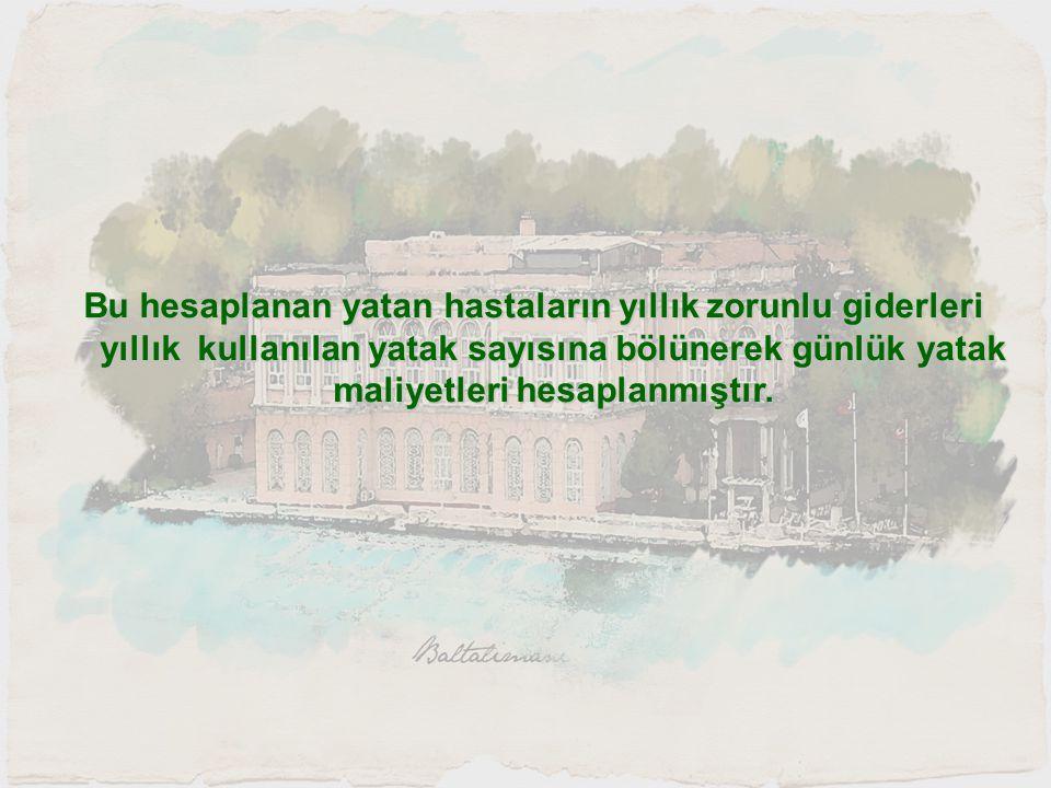 KALÇA REVİZYON HİZMET TUTAR LABORATUAR205 TL.İLAÇ248 TL.