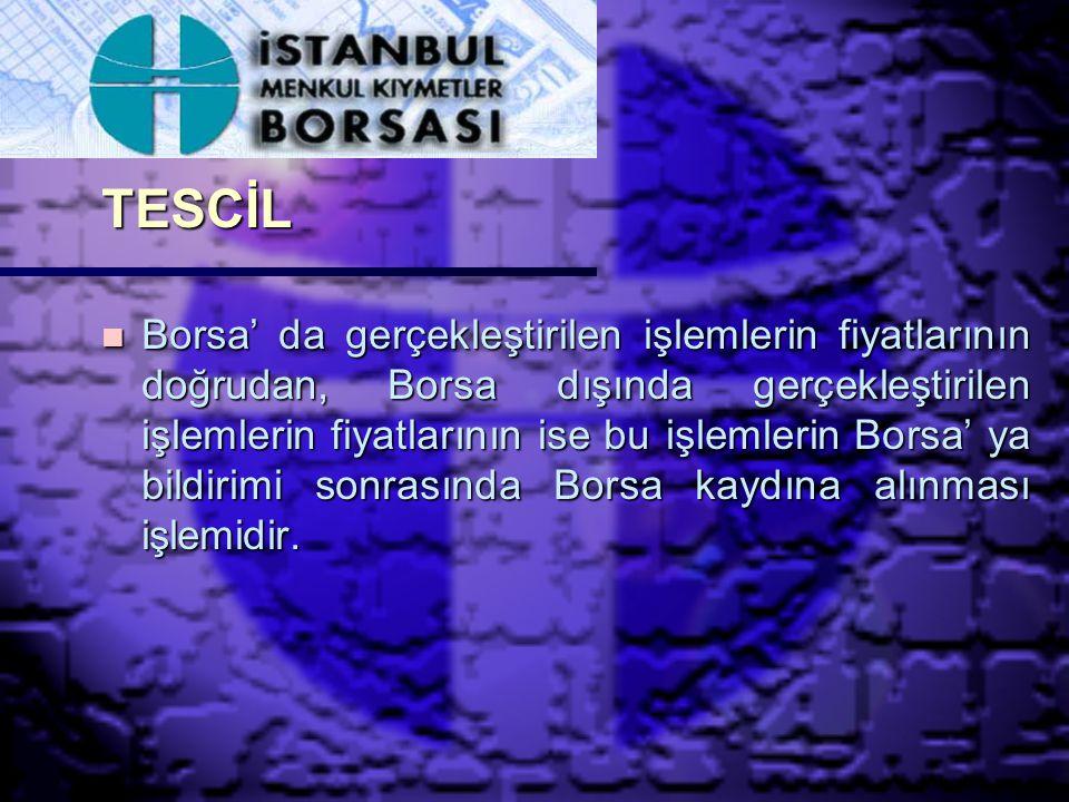 BORSA PAYI n Borsa üyelerinin, Borsa' da gerçekleştirdiği işlem hacmine göre hesaplanarak Borsa' ya ödenen meblağ olup,Borsa Yönetim Kurulu' nca belirlenir.