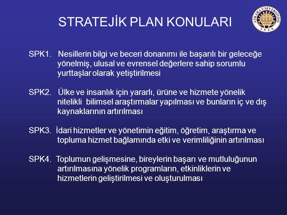 SPK1. Nesillerin bilgi ve beceri donanımı ile başarılı bir geleceğe yönelmiş, ulusal ve evrensel değerlere sahip sorumlu yurttaşlar olarak yetiştirilm