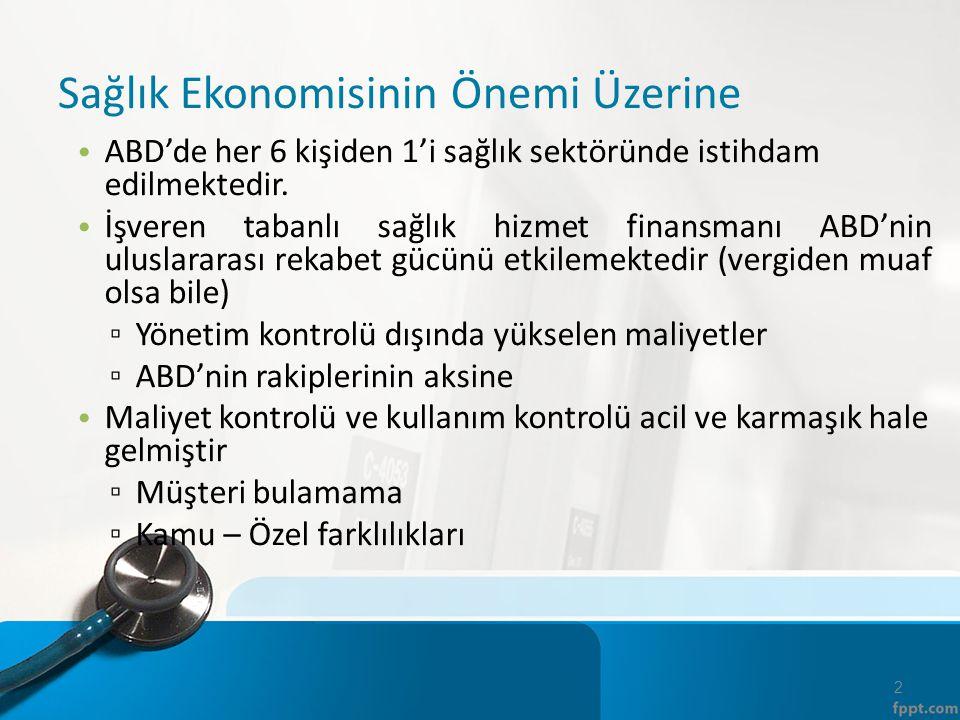 Sağlık Hizmetleri Kişi başına düşen sağlık harcamaları (satın alma gücü paritesine göre) Türkiye'de ($665 USD) AB ortalamasından düşüktür ($3,500 USD).