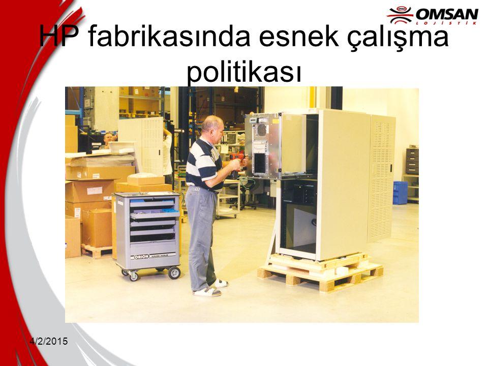 4/2/2015 HP fabrikasında esnek çalışma politikası
