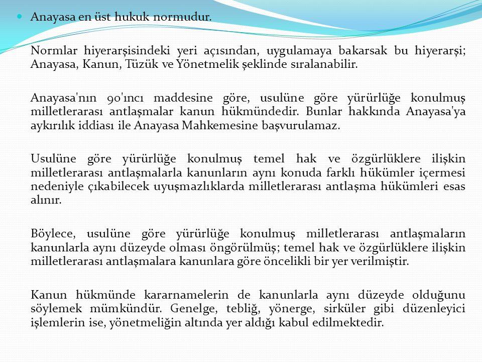 Türk Ceza Kanununun 1 inci maddesine göre, Kanunun sarih olarak suç saymadığı bir fiil için kimseye ceza verilemez.
